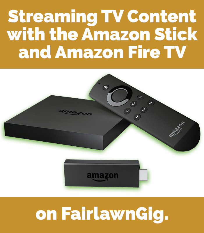 FairlawnGig Streaming with amazon fire