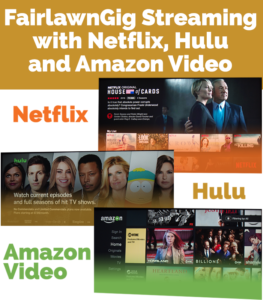 streaming on fairlawngig netflix hulu amazon