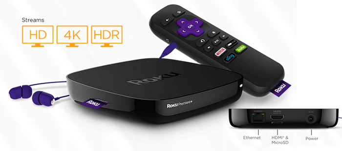 streaming on FairlawnGig with the Roku Premier+