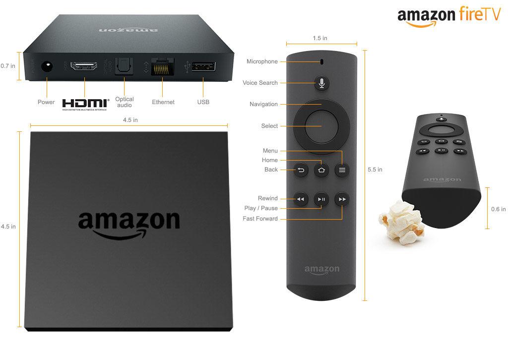 Amazon Fire TV on FairlawnGig