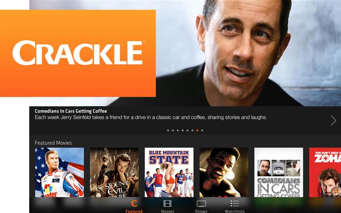Crackle TV on FairlawnGig