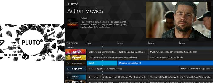 Pluto TV on FairlawnGig
