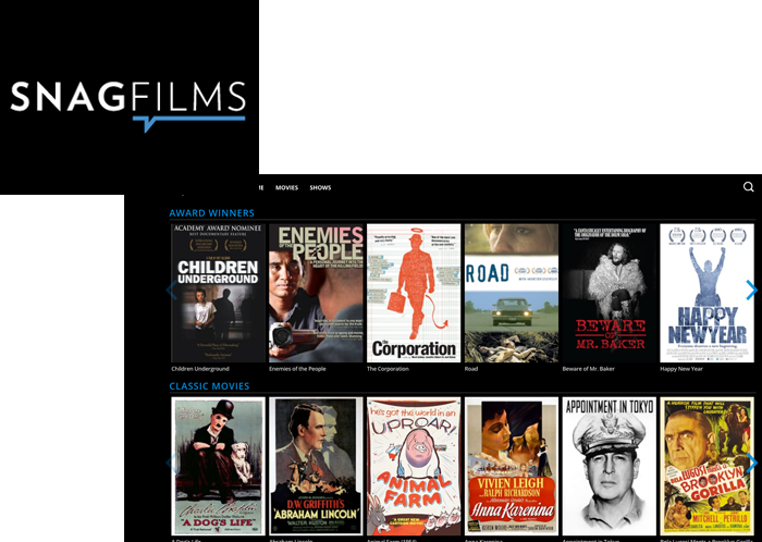 Snag Films on FairlawnGig