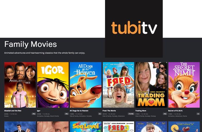 TubiTV on FairlawnGig